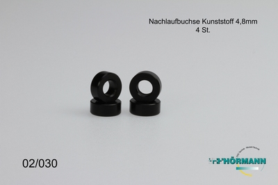 02/030 Nachlaufbuchse  L=4,8mm (Querlenkerverstelllung  4 Stuks