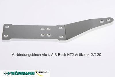 02/120 Verbindungsblech f. A-B Bock HT 2  1 Stuks