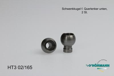 HT3/02/165 Schwenkkugel (Querlenker unten)  2 Stuks