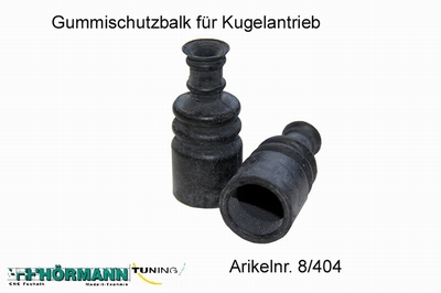 08/404 Rubber sleeve for diffcup  2 Stuks
