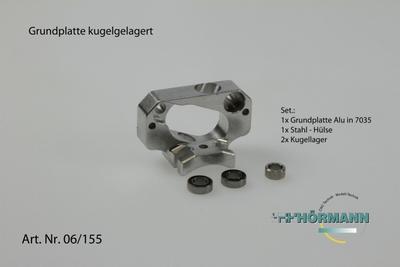 HT3/06/155 Grundplatte kugelgelagert  1 Set