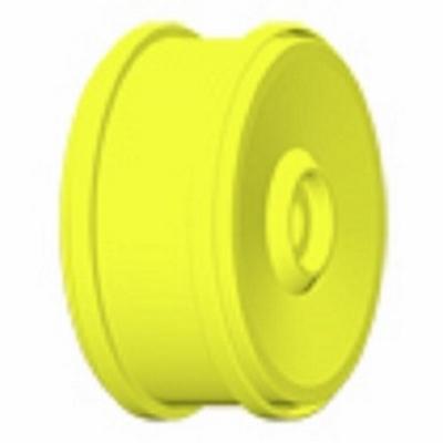 H99Y Velg 132 mm. geel 18 mm. meenemer  1 Paar