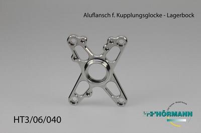 HT3/06/040 Aluflansch f. Kupplungsglocke (Lagerbock)  1 Stuks
