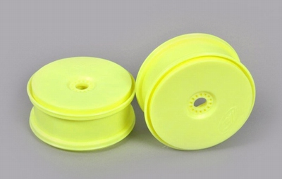 672216 Disk rim yellow 'Tire save' 24mm Hexagon  2 Stuks