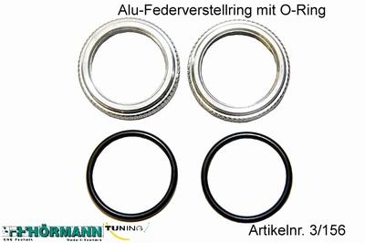 03/156 Veer verstelring met O-Ring  2 Stuks
