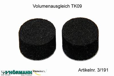 03/191 Volume compensatie schuimpjes  2 Stuks