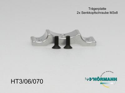 HT3/06/070 Conversie platte fur hydraulische centralbremse  1 Stuks