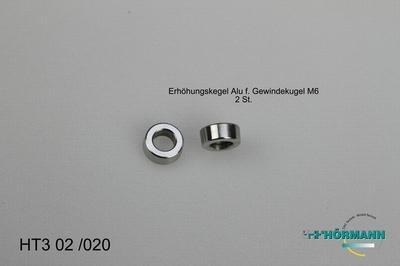 HT3/02/020 Verhogingsring t.b.v. kogelkop   2 Stuks