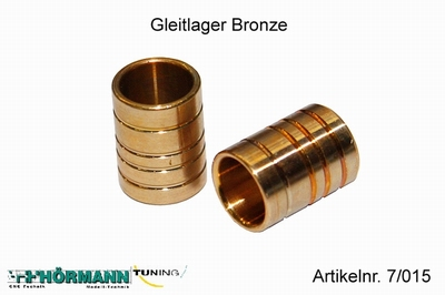 07/015 Sliding bearing bronze  2 Stuks