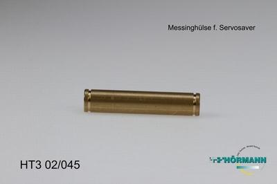 HT3/02/045 Messinghuls t.b.v. servosaver   1 Stuks