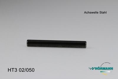 HT3/02/050 Achswelle Stahl f. Servosaver L=58,5mm  1 Stuks
