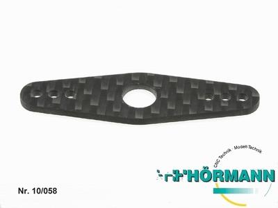 10/058 Carbon Platte f. Servosaver doppelt  1 Stuks