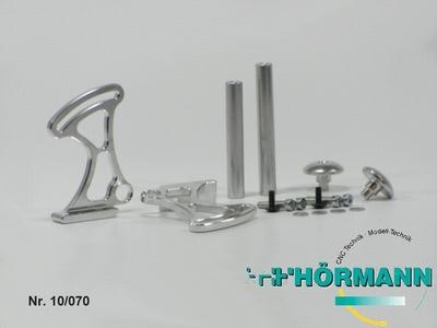 10/070 Alu Heckspoiler Set einstellbar   1 Set