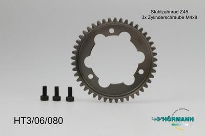 HT3/06/080 Sprocket Z45  1 Stuks