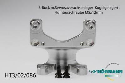 HT3/02/086 B frame For servosaverwith Ball bearings  1 Stuks