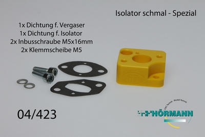 04/423  Hörmann Isolator kurz Spezial  1 Set
