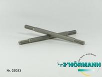 02/213 Spurstange Sechskant vorne L104mm  1 Stuks