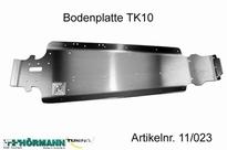 11/023 Alu Chassis TK10 L=535 mm 1 Stuks