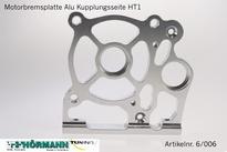 06/006 Motorbremsplatte Kuppungsseite HT1 - HT2  1 Stuks