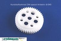 06/045 Kunststoffzahnrad Z44 Delrin 1 Stuks