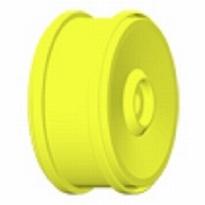 H99Y Felge132 mm. Gelp 18 mm. 4-Kant  1 Paar