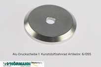 06/055 Aluminum pressure ring for gear pulley 1 Stuks