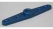 118704 Hitec servo hevel metaal blauw twee-armige 1 Stuks