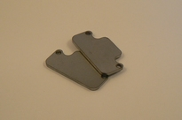 HT3/06/130 Brake plates 2 mm. thick steel 2 Stuks