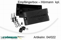 04/022 Empfängerbox Hörmann komplett Rot 1 Stuks