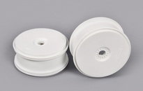672215 Disk rim white 'Tire save' 24mm Hexagon 2 Stuks
