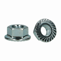 AQP B002 Flange nut with teeth M8  10 Stuks