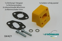 04/421 Hörmann Angled Isolator HT3 Yellow 1 Set