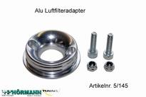 05/145 Alu Luftfilterflansch-Twin Air 1 Stuks