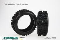 09/131 Hörmann Offroad-Reifen, X-Profil Medium  2 Stuks