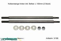 03/211 Kolbenstange lang 4,8mm L= 100 mm 2 Stuks