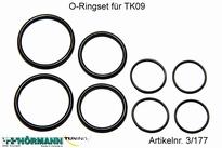 03/177 O-Ringset t.b.v. grootvolume dempers 1 Set