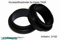 03/192 Kunststoffverbinder f.Federn  2 Stuks