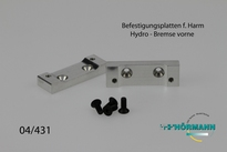 04/431 Conversie plaatjes t.b.v. hydraulische rem 2 Stuks
