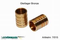07/015 Gleitlager Bronze 2 Stuks
