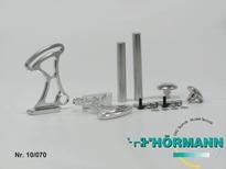 10/070 Aluminium instelbare spoiler houder 1 Set