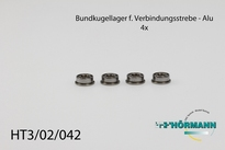 HT3/02/042 Lagerbussen tbv kogelgelagerde verbindingsstrip 4 Stuks