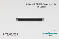 HT3/02/051 Shaft for servosaver with ball bearings 1 Stuks